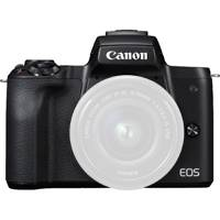 Canon EOS M50 4K UHD 24.1MP Compact Mirrorless Camera - Body Only - Black or White (2680C057 / 2681C051)