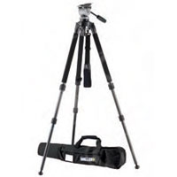Miller 1643 DS20 Solo DV Tripod System includes  DS20 (184) Solo DV 2-St Alloy Tripod (1630) Pan Handle (680) and Solo DV Softcase (1518)