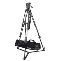 Miller 1827 Compass15 Tripod System includes  Compass 15 (1034) Toggle 2-St Tripod (420G) Ground Spreader (411) Pan Handle (679) Strap (554) and Softcase (876)