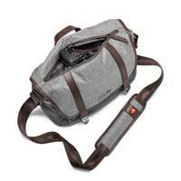 Manfrotto MB LF-WN-MS (MBLFWNMS) Windsor Camera Messenger Bag for Compact System Cameras and x3 Lenses