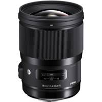 Sigma 28mm F1.4 DG HSM Art Wide-Angle Lens - Canon EF Mount