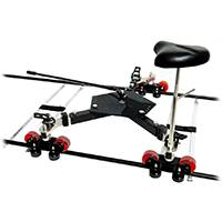 IDS Indie Dolly Systems Universal Dolly for Curved or Straight Track Use (NO Track Included)