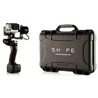 Shape ISEEI-2.0CASE Handheld Gimbal for GoPro Hero or Smartphone with Accessories - Supplied with Hard Case (ISEEI2CASE)