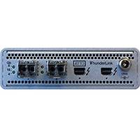 Atto ThunderLink 20Gb/s Thunderbolt 2 (2-port) to 16Gb/s FC (2-Port) Desklink Device including Optical SFP+ (p/n AT-TLFC-2162-DE0)