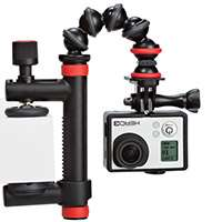 Joby Action Clamp and GorillaPod Arm for Cameras Such as the GoPro, Contour and Sony ActionCam (JB01280-BWW)