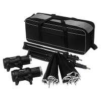 Profoto (901055) D1 Studio Kit 250/250 Air includes 2 x D1 lights, 2 x umbrellas, 2 x stands and 1 x bag