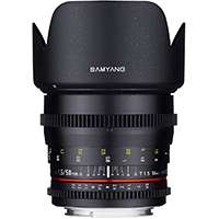 Samyang 50mm T1.5 VDSLR AS UMC Lens, Sony E-Mount (7443)