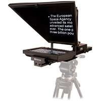 Autocue OCU-SSP08 (OCUSSP08) Entry-level prompter package including 8-inch monitor with VGA and BNC outputs, pop up hood, prompter mount for any tripod, Prompter glass, 10mtr VGA cable and software