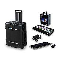 NewTek TriCaster Mini Multi - Standard Bundle - includes TriCaster Mini Multi-Standard  (w/ Integrated Display and 2 Internal Drives), TriCaster Mini CS, Travel Case