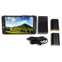SmallHD SHD-MON702BLPKIT (SHDMON702BLPKIT) SmallHD 702 Bright Full HD Field Monitor with Battery Kit