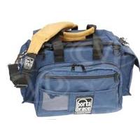 Portabrace CAR-1 (CAR1) Small Cargo Case for mini-dv cameras / batteries / lights (internal dimensions: 33.02 x 20.32 x 25.40 cm) (blue)