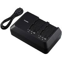 Canon CG-A10 (CGA10) Dual Battery Charger for Canon C300 Mark II Series Camcorders (p/n 0872C003AA)