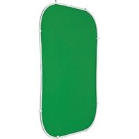 Photoflex BG-FLEXDROP (BGFLEXDROP) 5x7ft (210x150cm) Collapsible Green Chroma-key Background
