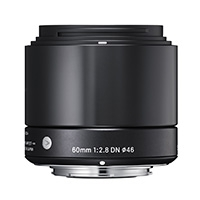 Sigma (350963) 60mm f/2.8 Art Series DN Lens for MFT Micro Four Thirds - Black