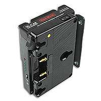 Hawk-Woods VL-CA8 (VLCA8) V-Lok to Anton Bauer Battery Adaptor for Sony PMW-F5 and PMW-F55 Cameras (14V 3x Power-Con / Anton Batts)