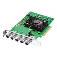 Blackmagic DeckLink 4K Pro High Performance PCIe Capture & Playback Card with Advanced 12G-SDI (BMD-BDLKHCPRO4K12G)