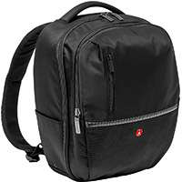 Manfrotto MB MA-BP-GPM (MBMABPGPM) Medium Sized Photographic Backpack for a Pro DRLR with an Attached 70-200mm Lens, 2x Small Extra Lenses and Accessories