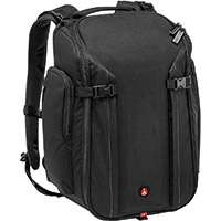 Manfrotto MB MP-BP-20BB (MBMPBP20BB) Professional Photographic Backpack Designed for a Pro DSLR with an Attached 70-200mm Lens, 1x Extra Camera Body, 3x Extra Lenses, 13-inch Laptop and Accessories