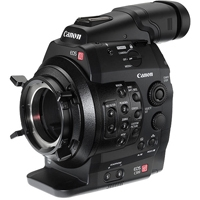 Used Canon Cinema EOS C300 PL super 35mm Full HD cinematography camcorder with PL lens mount (5819B003AA)