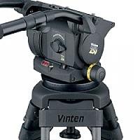 Vinten VB250-AP2S (VB250AP2S) Vision 250 (3465-3S) Dual Telescopic Pan Bars (3219-91), Two-Stage Aluminium Pozi-Loc Tripod (V4086-0001) and Skid (3497-3E)