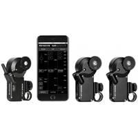 PDMovie MINI-03 (MINI03) Remote Air Mini Follow Focus Kit - Triple Channel