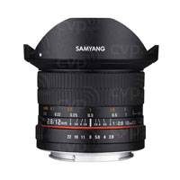 Samyang 12mm f2.8 ED AS NCS Fisheye Lens - Fuji X Mount (p/n 7474)