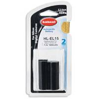 Hahnel HL-EL15 Nikon Compatible Digital Camera Battery - EN-EL15 Alternative (p/n 1000 202.5)