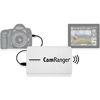 Camranger (7010) Wireless Camera Control and Tethering, Compatible with iPhone/iPad, Android, Mac and Windows for use with Canon and Nikon DSLRs
