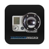 Redrock Micro Cobalt Cage for GoPro HERO and HERO 2 (p/n 3-127-0001)