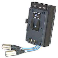 Hawk-Woods VL-RM6W (VLRM6W) Wisycom MCR42 Dual-Channel V-lok Radio Mic Holder (15-pin D Connector)