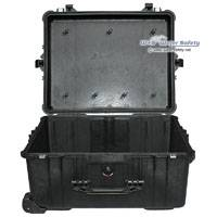 Peli Products 1610 Waterproof Case without Foam in Black (Internal Dimensions: 55.3 x 42.4 x 27 cm)
