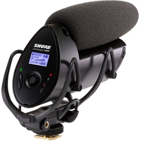 Shure VP83F ( VP-83F) LensHopper FLASH Camera-Mount Condenser Microphone with Integrated Flash Recording