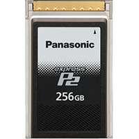 Panasonic AU-XP0256AG (AUXP0256AG) 256GB Express P2 Memory Card Compatible with the AU-V35C1G and AU-V23HS1G Varicam Video Cameras