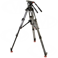 Sachtler 2073 S1 System 20 SB HD MCF - Video 20 S1 fluid head (2010) + tripod ENG 2 CF HD (5390) + mid-level spreader 100/150 (7007) + rubber feet 100/150 (7004) + padded bag ENG/EFP (9106)