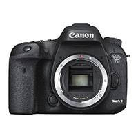 Canon EOS 7D Mark II 20.2 Megapixel APS-C Digital SLR Camera Body Only with W-E1 Wi-fi Adapter (Canon p/n 9128B156AA)