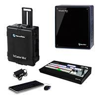 NewTek TriCaster Mini HD-4 SDI TCAE Bundle with Mini HD-4 SDI, TriCaster Mini CS and NewTek Custom Travel Case (TCMiniSDIMS-Bundle) with TCAE