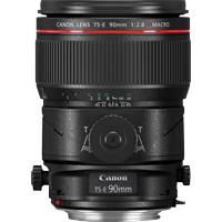 Canon TS-E 90mm f/2.8L Tilt and Shift Macro Lens - Canon EF