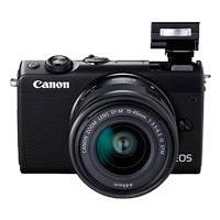 Canon EOS M100 24.2 Megapixel EF-M Mount Digital Camera - Body Only (Black)
