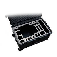 Pelican Case for Movi M15 with Toad-in-the-Hole - Custom Made by Jason Cases for Cinema Oxide (MOVI-M15-WITH-TOAD-CASE-PLAIN)
