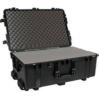 Peli Products 1650 Waterproof Flight Case with Foam (Internal Dimensions: W 74.0 cm x D 46.0 cm x H 26.5 cm)
