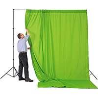 Lastolite LL LC5881 (LLLC5881) Chromakey Curtain 3 x 7M (10ft x 24ft) Green Screen