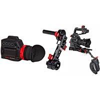 Zacuto Z-C100ERGHDB (ZC100ERGHDB) Canon C100 Gratical Bundle including 1x C100 EVF Recoil, 1x Axis Mini and 1x Gratical HD EVF