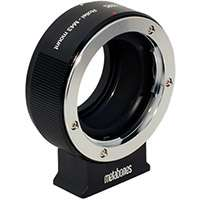 Metabones ROLLEI QBM to Micro Four Thirds Lens Adapter in Black Matt (p/n MB_ROLLEI-m43-BM1)