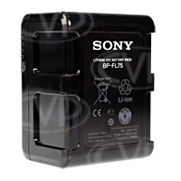 Sony BP-FL75 (BPFL75) High Capacity Battery (5900mAh) for F-Series Cameras