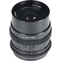 SLR Magic 25mm F/1.4 Cine Lens - Sony E Mount (SLR-2514FE)
