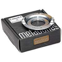 Metabones C-mount to Micro Four Thirds Lens Adapter III in CHROME (p/n MB_C-m43-CH3)