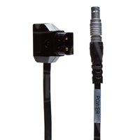 Redrock Micro 6-Pin Lemo to D-Tap Power Cable for PowerPack (p/n 2-100-0009)
