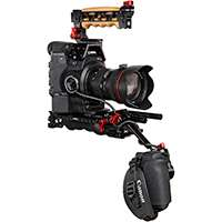 Zacuto EVF Recoil Rig for the Canon C300 and C500 Video Cameras - Z-C300ER (ZC300ER)