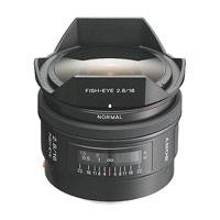 Sony 16mm f2.8 Fisheye Lens - A Mount (p/n SAL16F28)