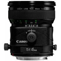 Canon TS-E 45mm F2.8 Tilt and Shift standard Focal Length Lens (p/n 2536A019AA)
